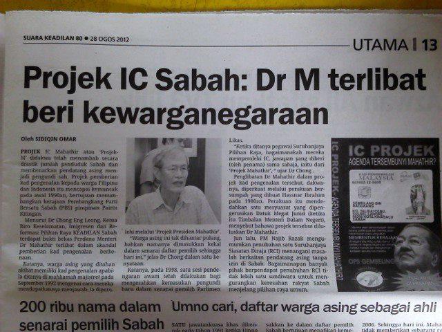 Image result for projek ic sabah