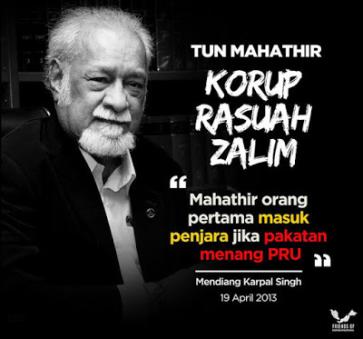 Image result for senarai rasuah mahathir