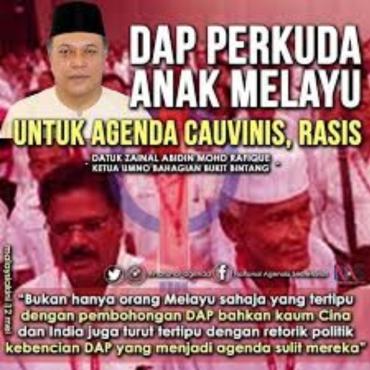 Image result for DAP gunakan politik kebencian